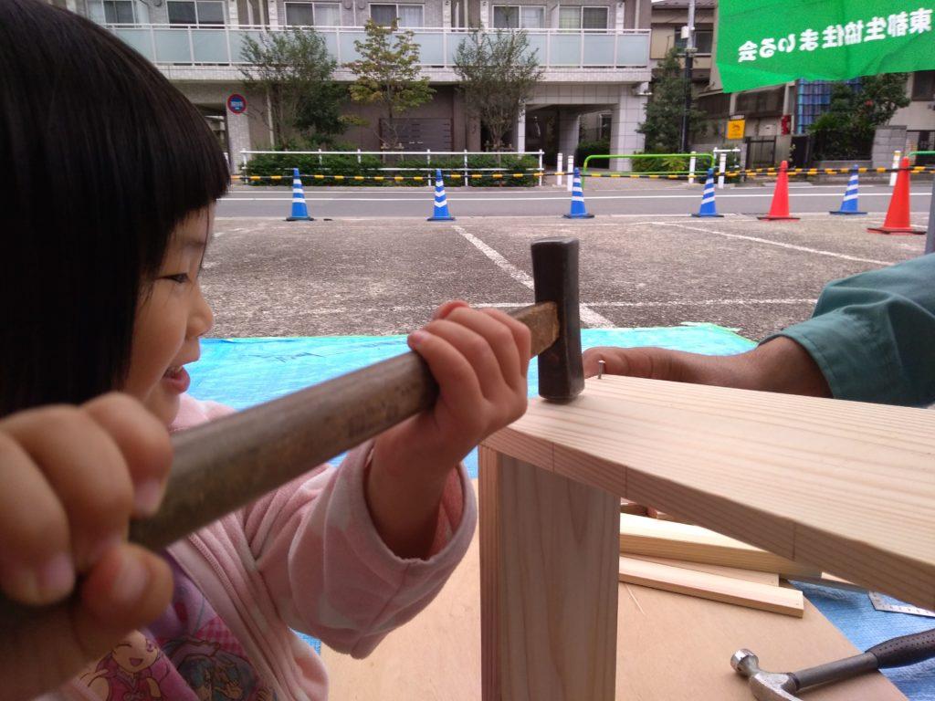 【板橋区】東京・草野工務店の木工教室!小学生が大工に挑戦♡