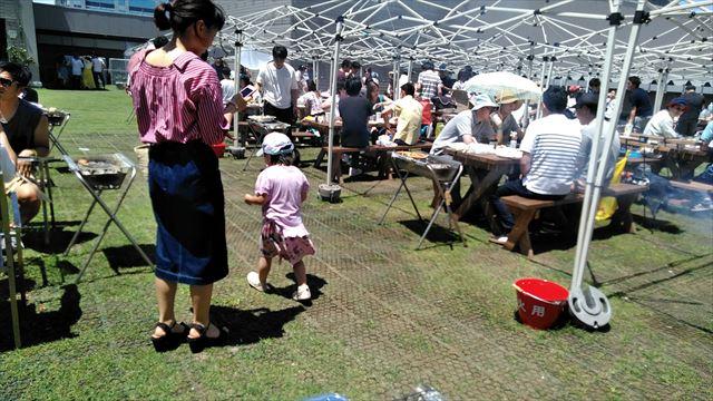 【江東区】お台場・都会の農園 バーベキュー広場で子連れバーベキューをしてきました